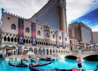 The Venetian Resort Hotel Casino is a luxury hotel and casino resort situated between Harrah's and The Palazzo on the site of the old Sands Hotel. The hotel tower contains […]