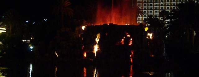 """along the Strip that """"erupts"""" nightly from 5–11pm on the hour. After sister property Bellagio opened, the design firm WET, the company that created the Fountains of Bellagio attraction, improved […]"""