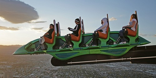 at 866ft (264m) is the third highest thrill ride in the world is a ride comprising a 69ft straight piece of track similar to that of a conventional roller coaster, […]